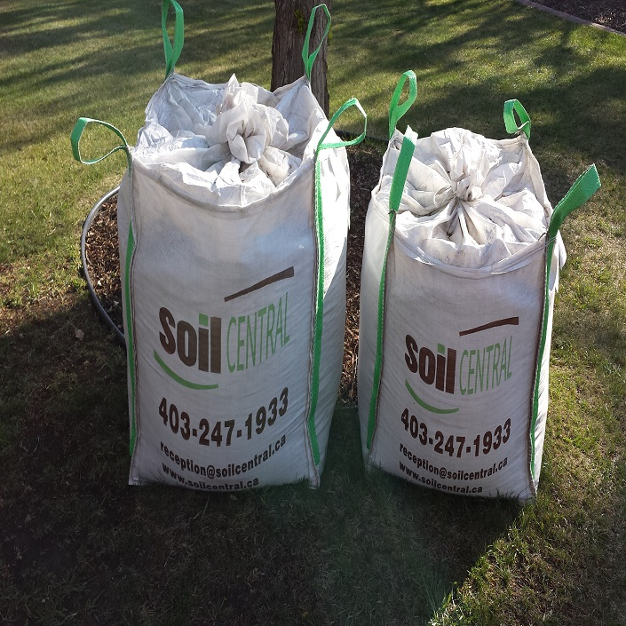 Soil central calgary alberta soil delivery for Bags of topsoil